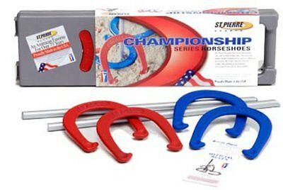 St Pierre RC5 Royal Classic Championship Series Backyard Horseshoes Set