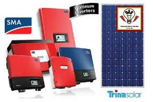 5.2KW PV SYSTEM - SMA - TRINA 260W TIER 1 Morayfield Caboolture Area Preview