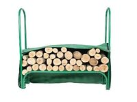 Westpower Large Metal Framed Log Store with Cover RRP £50