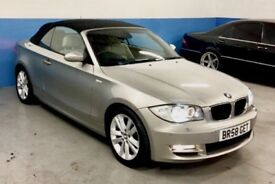 BMW 125i Cabriolet 2 months MOT heated/electric seats High Spec**LOW MILAGE** FULL SERVICE HISTORY