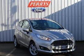 2014 Ford Fiesta 1.0 EcoBoost Zetec 3 door Petrol Hatchback