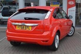 2008 Ford Focus 1.6 Titanium 5 door Petrol Hatchback
