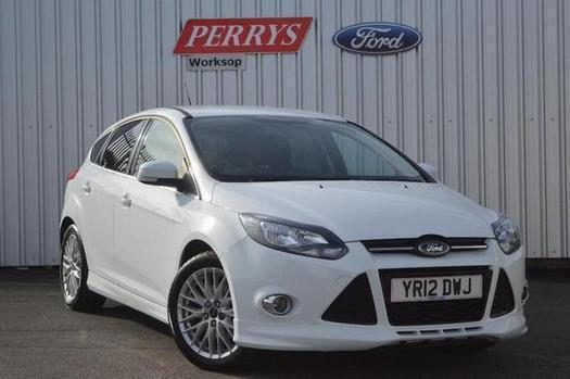 2012 ford focus 1.6 182 ecoboost zetec s 5 door petrol hatchback