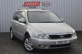 2010 Kia Sedona 2.2 CRDi 3 5 door Auto Diesel People Carrier
