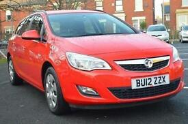 2012 Vauxhall Astra 1.6i 16V Exclusiv 5 door Auto Petrol Estate
