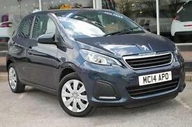 2014 Peugeot 108 1.0 Active 5 door Petrol Hatchback