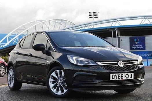 2016 Vauxhall Astra 1.6 CDTi 16V Design 5 door Diesel Hatchback