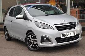 2014 Peugeot 108 1.2 VTi Allure 3 door Petrol Hatchback