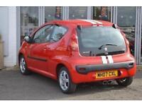 2007 Peugeot 107 1.0 Sport XS 3 door Petrol Hatchback