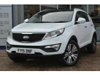 2015 Kia Sportage 1.7 CRDi ISG 3 5 door Diesel Estate
