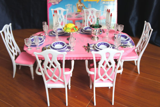 NEW FANCY LIFE DOLL HOUSE FURNITURE NEW DINING ROOM (9712) PLAYSET