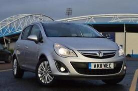 2011 Vauxhall Corsa 1.2i 16V [85] SE 5 door Petrol Hatchback