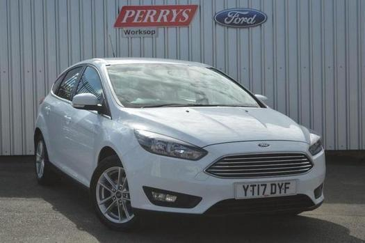2017 Ford Focus 1.5 TDCi 120 Zetec Navigation 5 door Diesel Hatchback