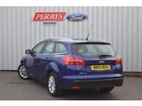 2015 Ford Focus 1.6 125 Titanium 5 door Powershift Petrol Estate