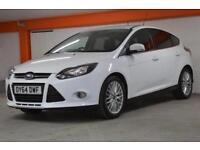 2014 Ford Focus 1.0 125 EcoBoost Zetec 5 door Petrol Hatchback