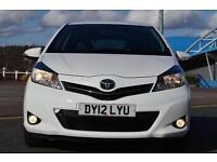 2012 Toyota Yaris 1.33 VVT-i SR 3 door Petrol Hatchback