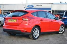 2016 Ford Focus 1.0 EcoBoost Zetec 5 door Petrol Hatchback