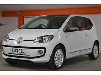 2013 Volkswagen up! 1.0 Up White 3 door Petrol Hatchback