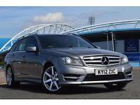 2012 Mercedes C-Class C200 CDI BlueEFFICIENCY Sport 5 door Auto Diesel Estate