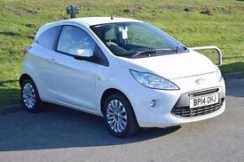 2014 Ford Ka 1.2 Zetec 3 door [Start Stop] Petrol Hatchback