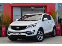 2014 Kia Sportage 1.6 GDi White Edition 5 door Petrol Estate