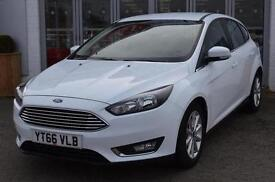 2016 Ford Focus 1.5 TDCi 120 Titanium 5 door Diesel Hatchback
