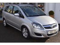 2013 Vauxhall Zafira 1.7 CDTi ecoFLEX Exclusiv [110] 5 door Diesel People Carrie