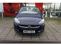2017 Vauxhall Corsa 1.4 ecoFLEX Energy 3 door Petrol Hatchback