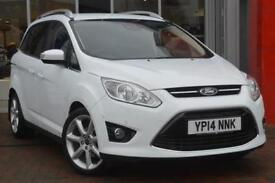 2014 Ford Grand C-MAX 1.6 TDCi Titanium 5 door Diesel Estate