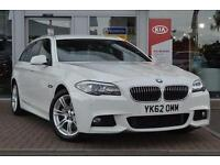 2012 BMW 5-Series 520d M Sport 5 door Step Auto [Start Stop] Diesel Estate