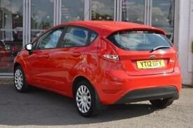 2012 Ford Fiesta 1.25 Edge 5 door Petrol Hatchback