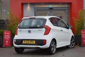 2013 Kia Picanto 1.25 White EcoDynamics 3 door Petrol Hatchback