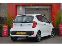 2013 Kia Picanto 1.25 White EcoDynamics 3 door Petrol Hatchback