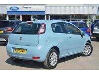 2014 Fiat Punto 1.4 Easy 3 door Petrol Hatchback