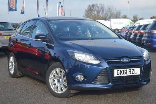 2011 Ford Focus 1.6 125 Titanium 5 door Petrol Hatchback