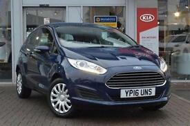 2016 Ford Fiesta 1.25 Style 3 door Petrol Hatchback