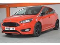 2016 Ford Focus 1.5 EcoBoost 182 Zetec S Red 5 door Petrol Hatchback
