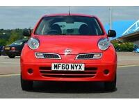 2010 Nissan Micra 1.2 80 Visia 5 door Petrol Hatchback