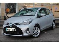 2014 Toyota Yaris 1.5 Hybrid Excel 5 door CVT Hybrid Hatchback