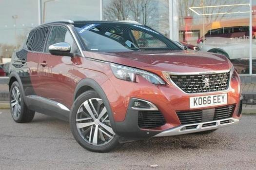 2017 Peugeot 3008 20 Bluehdi 180 Gt 5 Door Eat6 Diesel Estate In