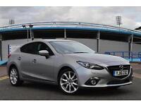 2016 Mazda 3 2.2d Sport Nav 4 door [Leather] Diesel Saloon