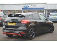 2016 Ford Focus 1.5 EcoBoost 182 Zetec S Black 5 door Navigation Petrol Hatchbac