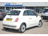 2012 Fiat 500 1.2 Lounge 3 door [Start Stop] Petrol Hatchback