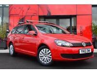 2012 Volkswagen Golf 1.6 TDI 105 BlueMotion Tech S 5 door Diesel Estate