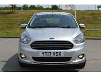 2017 Ford Ka+ 1.2 Zetec 5 door Petrol Hatchback