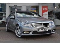 2009 Mercedes E-Class E350 CDI BlueEFFICIENCY Sport 4 door Tip Auto Diesel Saloo
