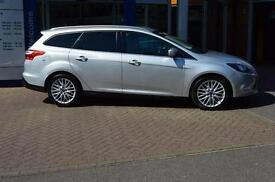 2014 Ford Focus 1.0 EcoBoost Zetec Navigator 5 door Petrol Estate