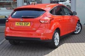2015 Ford Focus 1.0 EcoBoost Zetec 5 door Petrol Hatchback