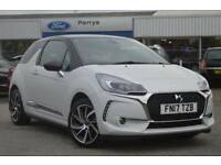 2017 Citroen DS3 1.2 PureTech Givenchy Le Makeup 3 door Petrol Hatchback