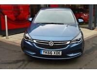 2016 Vauxhall Astra 1.6 CDTi 16V Energy 5 door Diesel Hatchback